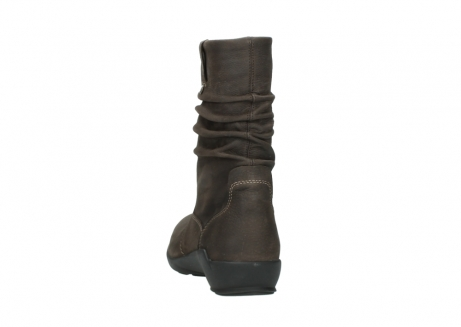 wolky mid calf boots 01572 luna 10300 brown nubuck_6