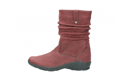 wolky mid calf boots 01572 luna 10510 burgundy nubuck_1