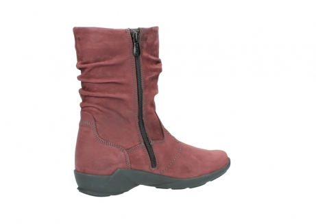 wolky mid calf boots 01572 luna 10510 burgundy nubuck_11