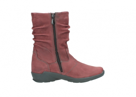 wolky mid calf boots 01572 luna 10510 burgundy nubuck_13