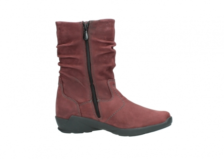 wolky mid calf boots 01572 luna 10510 burgundy nubuck_14