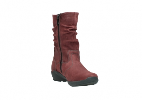 wolky mid calf boots 01572 luna 10510 burgundy nubuck_17