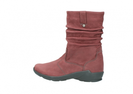 wolky mid calf boots 01572 luna 10510 burgundy nubuck_2