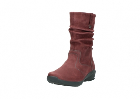 wolky mid calf boots 01572 luna 10510 burgundy nubuck_21