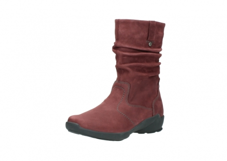 wolky mid calf boots 01572 luna 10510 burgundy nubuck_22