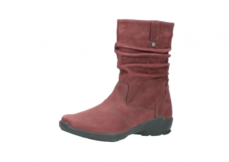 wolky mid calf boots 01572 luna 10510 burgundy nubuck_23