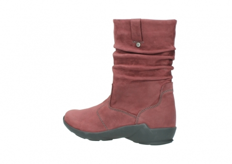 wolky mid calf boots 01572 luna 10510 burgundy nubuck_3