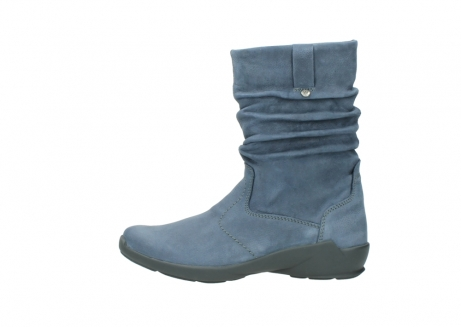 wolky mid calf boots 01572 luna 10800 blue nubuck_1