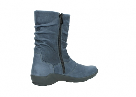 wolky mid calf boots 01572 luna 10800 blue nubuck_11