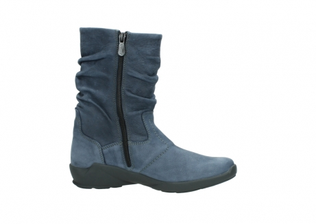wolky mid calf boots 01572 luna 10800 blue nubuck_14