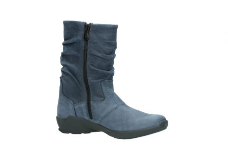 wolky mid calf boots 01572 luna 10800 blue nubuck_15