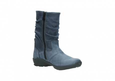 wolky mid calf boots 01572 luna 10800 blue nubuck_16