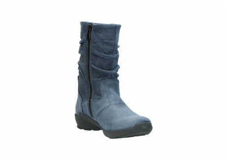 wolky mid calf boots 01572 luna 10800 blue nubuck_17