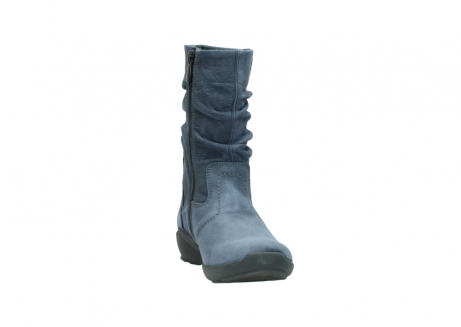 wolky mid calf boots 01572 luna 10800 blue nubuck_18