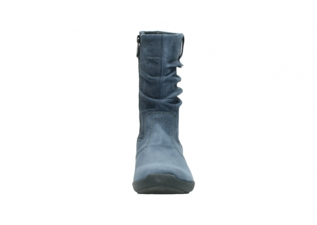 wolky mid calf boots 01572 luna 10800 blue nubuck_19