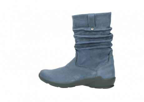wolky mid calf boots 01572 luna 10800 blue nubuck_2