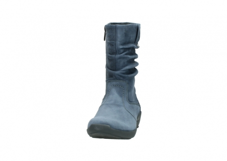 wolky mid calf boots 01572 luna 10800 blue nubuck_20
