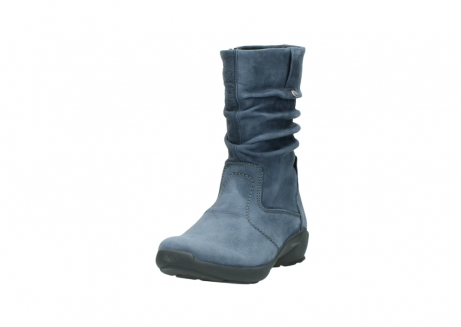 wolky mid calf boots 01572 luna 10800 blue nubuck_21