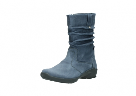 wolky mid calf boots 01572 luna 10800 blue nubuck_22