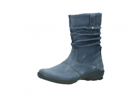 wolky mid calf boots 01572 luna 10800 blue nubuck_23