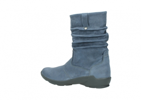 wolky mid calf boots 01572 luna 10800 blue nubuck_3