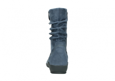 wolky mid calf boots 01572 luna 10800 blue nubuck_7