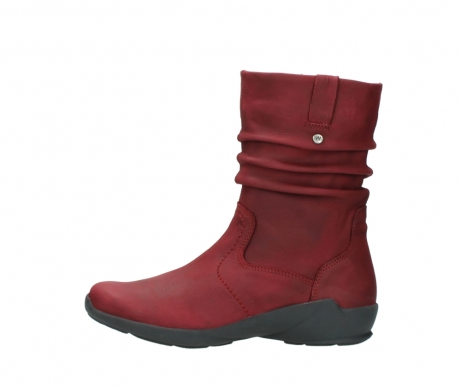 wolky mid calf boots 01572 luna 11530 bordeaux leather_1