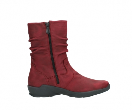 wolky mid calf boots 01572 luna 11530 bordeaux leather_13