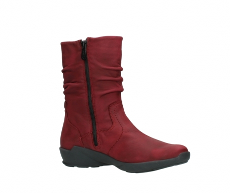 wolky mid calf boots 01572 luna 11530 bordeaux leather_15