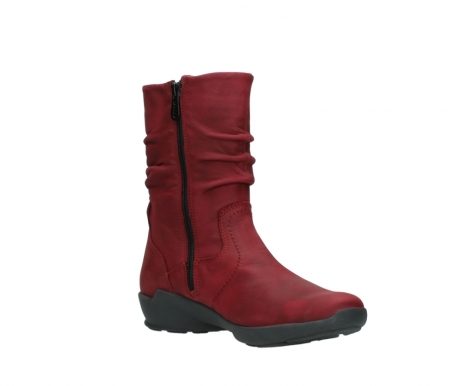wolky mid calf boots 01572 luna 11530 bordeaux leather_16