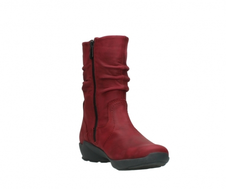 wolky mid calf boots 01572 luna 11530 bordeaux leather_17