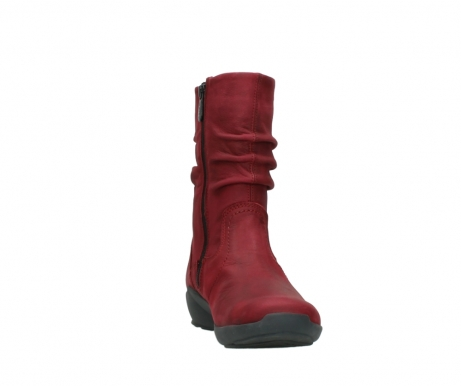 wolky mid calf boots 01572 luna 11530 bordeaux leather_18