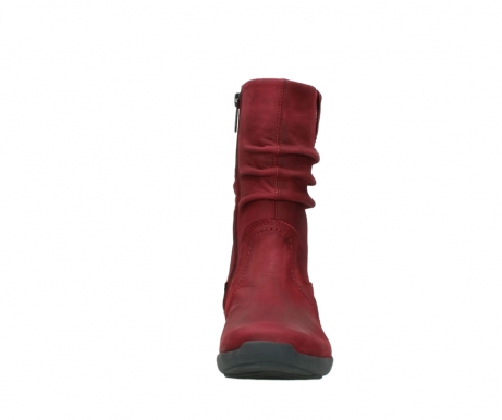 wolky mid calf boots 01572 luna 11530 bordeaux leather_19