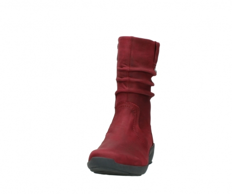 wolky mid calf boots 01572 luna 11530 bordeaux leather_20