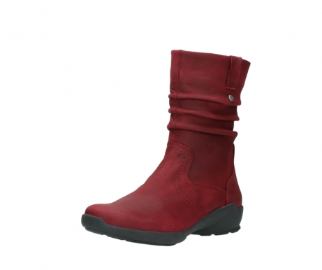 wolky mid calf boots 01572 luna 11530 bordeaux leather_22