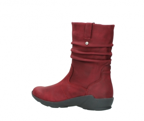 wolky mid calf boots 01572 luna 11530 bordeaux leather_3
