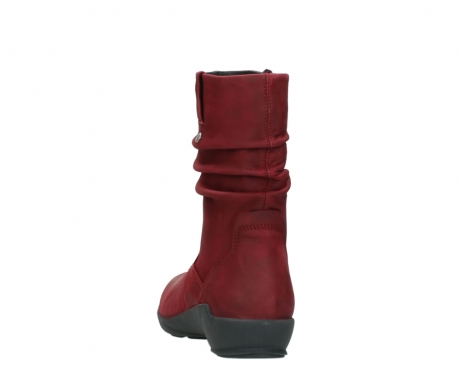 wolky mid calf boots 01572 luna 11530 bordeaux leather_6