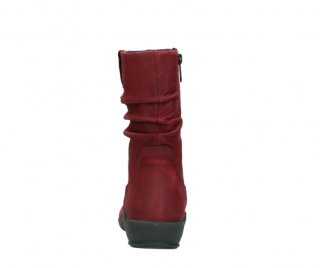 wolky mid calf boots 01572 luna 11530 bordeaux leather_7