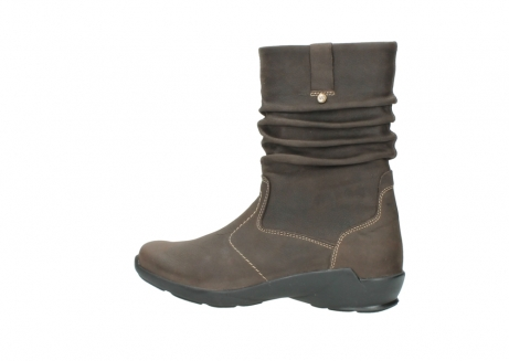 wolky mid calf boots 01573 luna wp 10300 brown nubuck water proof warm lining_2