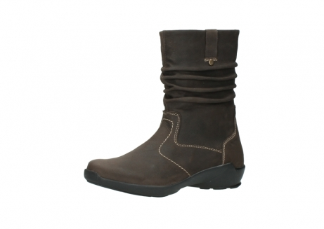 wolky mid calf boots 01573 luna wp 10300 brown nubuck water proof warm lining_23