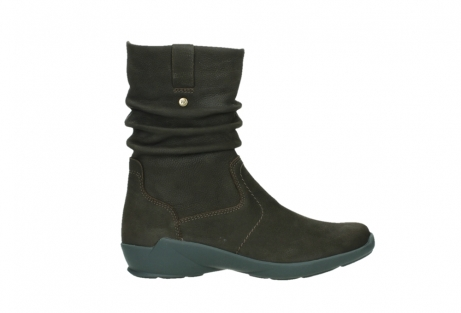 wolky mid calf boots 01573 luna wp 11302 brown nubuck water proof warm lining_1