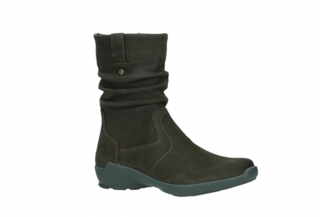 wolky mid calf boots 01573 luna wp 11302 brown nubuck water proof warm lining_3