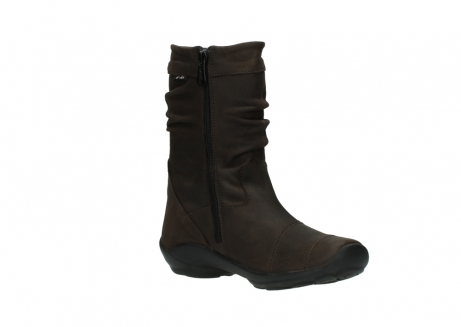 wolky mid calf boots 01658 jacky 50300 brown oiled leather_16