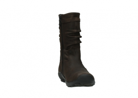 wolky mid calf boots 01658 jacky 50300 brown oiled leather_18