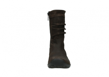 wolky mid calf boots 01658 jacky 50300 brown oiled leather_19