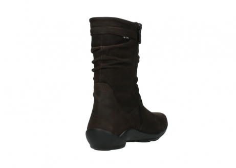 wolky mid calf boots 01658 jacky 50300 brown oiled leather_9