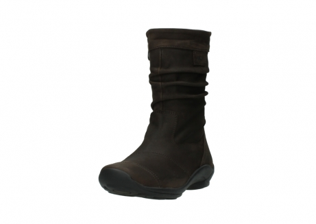 wolky mid calf boots 01678 jacky wp 50300 brown oiled leather water proof warm lining_21