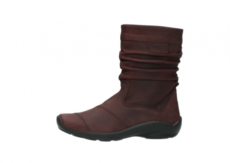wolky mid calf boots 01678 jacky wp 50510 burgundy oiled leather water proof warm lining_1