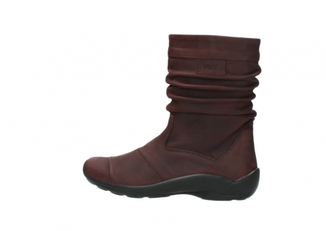 wolky mid calf boots 01678 jacky wp 50510 burgundy oiled leather water proof warm lining_3