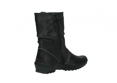 wolky bottes mi hautes 01732 bryce 10210 cuir anthracite_10